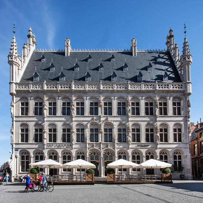 Tafelrond hotel Leuven sfeerbeelden interieur architectuur fotografie